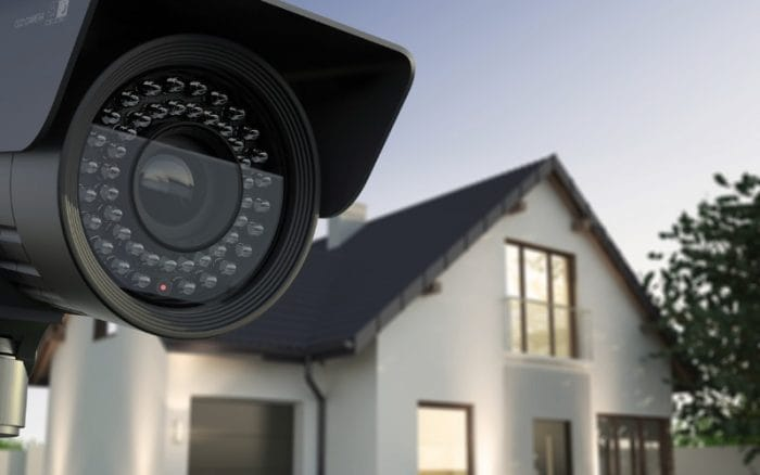 Home security camera to protect and secure your property.