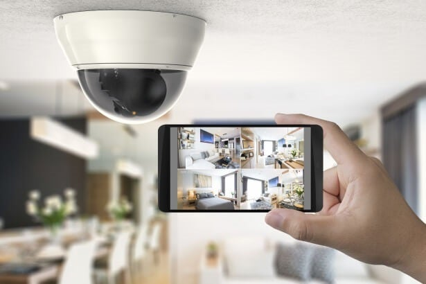 Security internal alarm system with digital access