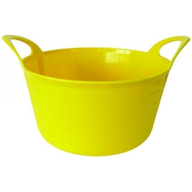 12L Rhino Flexi Tub Yellow
