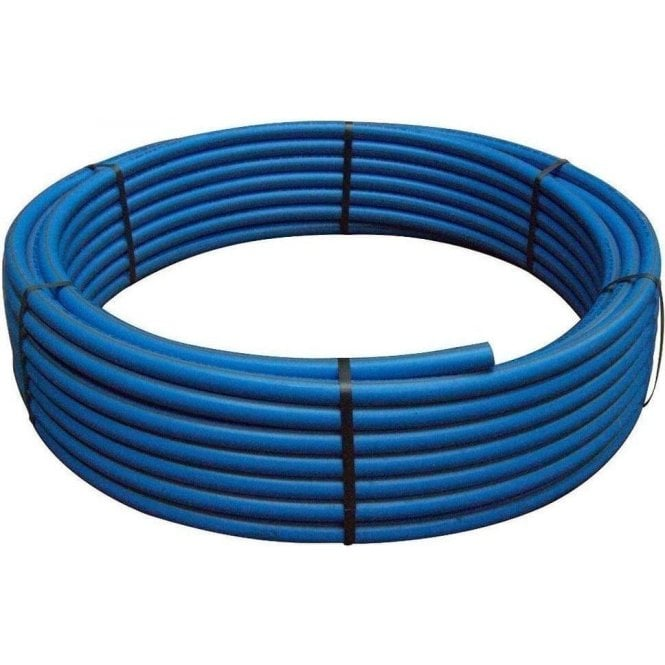 20mm MDPE Water Service Pipe Blue