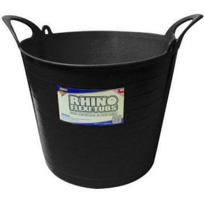 26L Rhino Flexi Tub Black