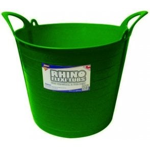 26L Rhino Flexi Tub Dark Green