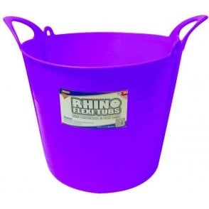 26L Rhino Flexi Tub Purple