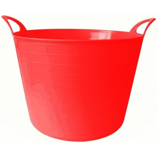 40L Rhino Flexi Tub Red
