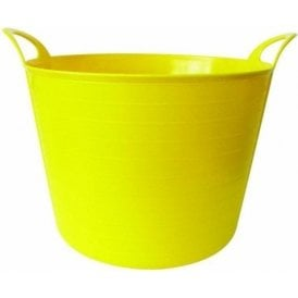40L Rhino Flexi Tub Yellow
