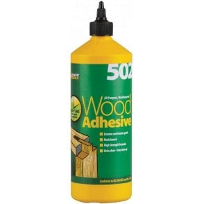 502 All Purpose Weatherproof Wood Adhesive 1L