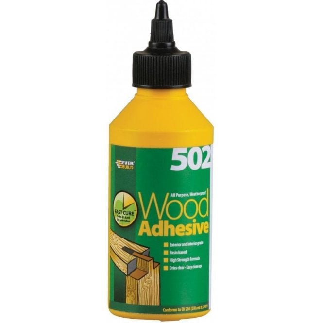 502 All Purpose Weatherproof Wood Adhesive 250ml