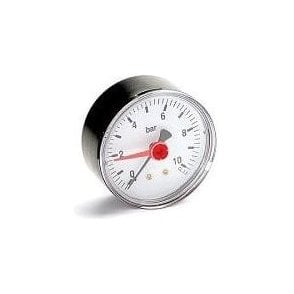 "Altecnic 1/4"" Pressure Gauge 0-10 Bar Wi-557310"