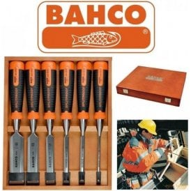 Bahco BAH434S6 Bevel Edge Chisel 6pc