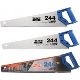 Bahco Triple Pack Includes -  244/22 Saw x 2 and 244P-22-XT-HP Blue Saw x 1