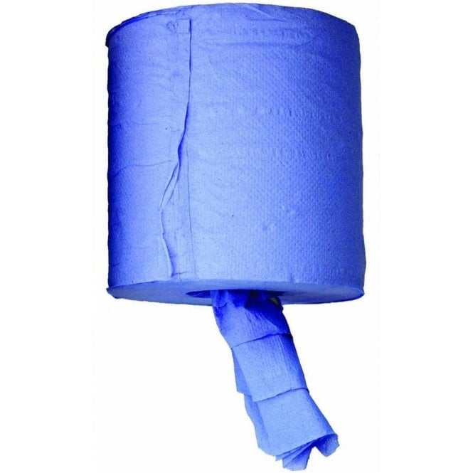 Blue Centre Feed 2 Ply Paper Roll 195mmx140m BLPR
