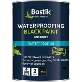 Bostik Bituminous Black Paint 1 Litre