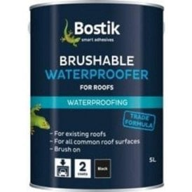 Bostik Rufabrush Brushable Roof Waterproofer 5 Litre