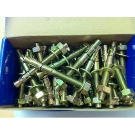 BOX 50 Throughbolt Anchor Fixing Bolts M10 X 90