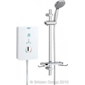 Bristan Bliss Electric Shower 9.5kw White BL395