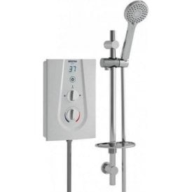 Bristan Glee 3 8.5kW White  Shower GLE385 W