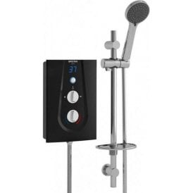 Bristan Glee Electric Shower Black 8.5KW