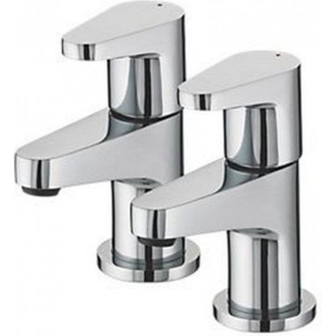Bristan Quest 3/4 Chrome Bath Taps QST 3/4 C