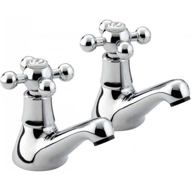 Bristan Regency Traditional Basin Taps CP R1/2C