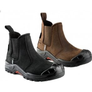 Buckler Nubuckz Safety Dealer Boots NKZ101