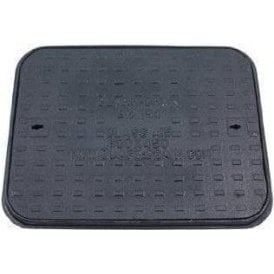 Cast Iron Manhole Cover and Frame 600x450mm Pedestrian A15