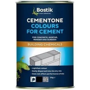 Cementone Cement Colour Black 1KG