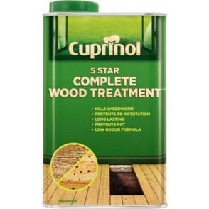 Cuprinol 5 Star Complete Wood treatment