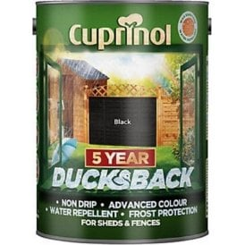 Cuprinol 5 Year Ducksback 5 litre Tin