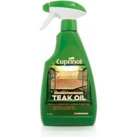 Cuprinol Natural Enhancing Teak Oil Spray 500ml