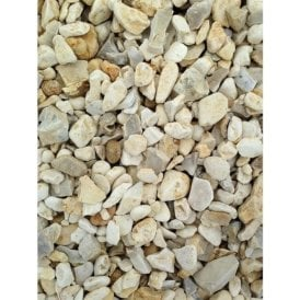 Decorative Aggregates Yorkshire Cream 20mm 25KG Bag