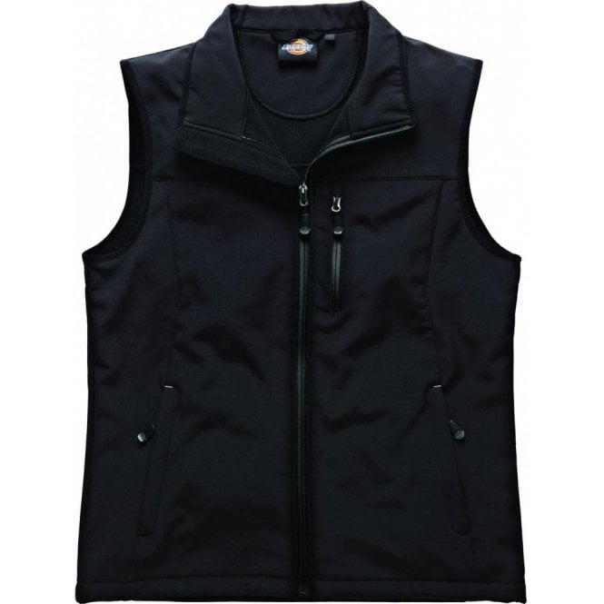 Dickies BW7001 Kenton Softshell Gilet Black