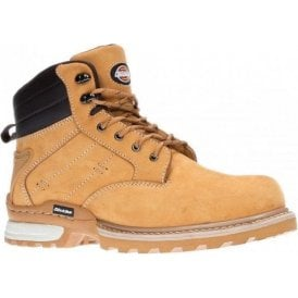Dickies Canton Safety Boot FD9209 Black Brown and Honey