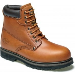 Dickies Cleveland Super Safety Boots FA23200 Chestnut
