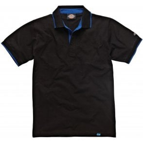 Dickies DT2000 Anvil Polo Shirt Black