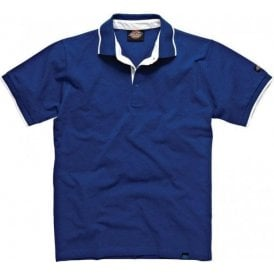 Dickies DT2000 Anvil Polo Shirt Blue