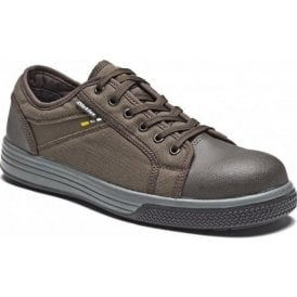 Dickies Ector Safety Trainer Brown