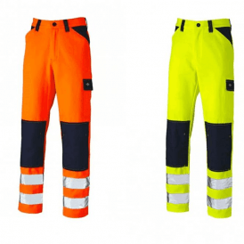 Dickies Everyday Hi Vis Two Tone Trousers SA247