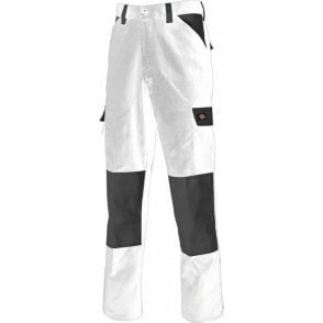 Dickies Everyday Workwear Trousers White ED247