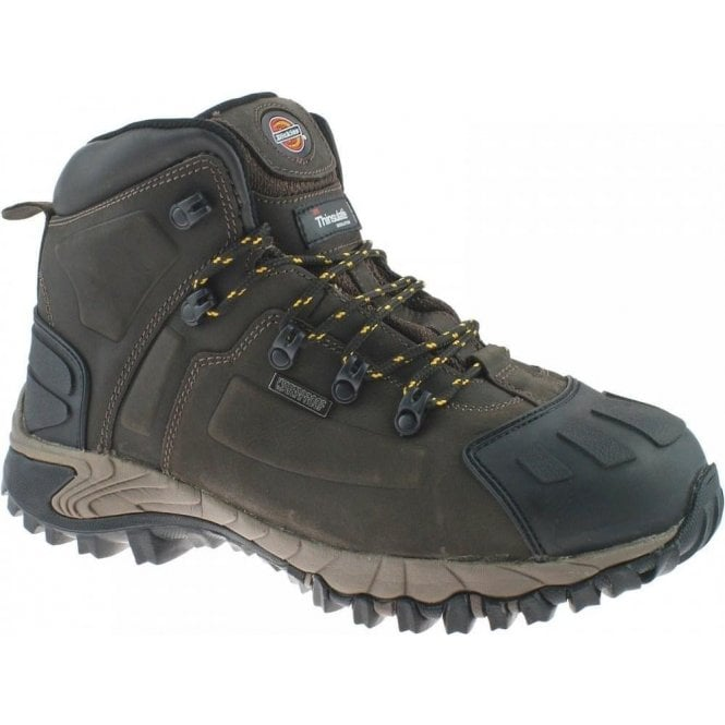 8a11996dd47 Dickies FD23310 Medway Super Safety Hiker Boot Brown