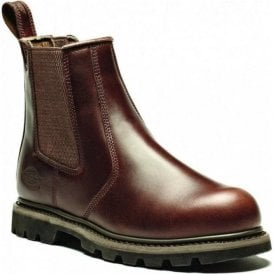 Dickies Fife Super Safety Dealer Boot FD9214 Brown