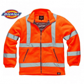 Dickies Hi Vis Orange Fleece Jacket
