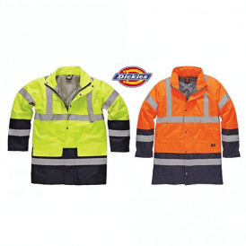 Dickies Hi Vis Two Tone Parka Jacket