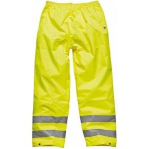 Dickies Highway Safety Trousers SA12005 Saturn Yellow