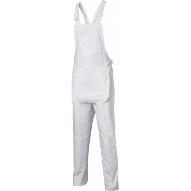 Dickies Painters Bib & Brace White WD650