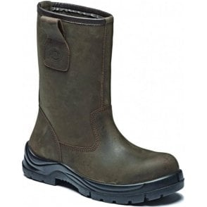 Dickies Quinton Leather Rigger Safety Boot Brown