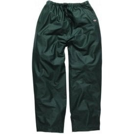 Dickies Raintite Trousers Green WP51000