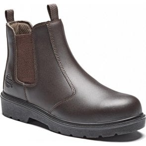 Dickies Super Safety Dealer Boot FA23345 Brown