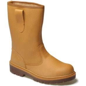 Dickies Super Safety Lined Rigger Boots Fa23350 Tan