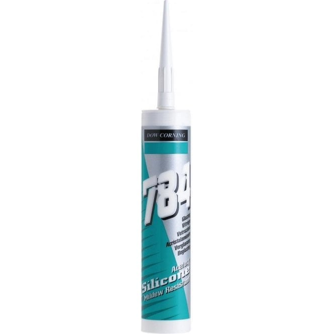 Dow Corning 784 Glazing Silicone Sealant White 310ml