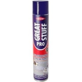 Dow Great Stuff Pro All Direction Straw Foam 750ml